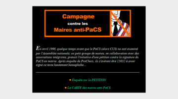 maires anti-PaCS