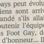 Paris Foot Gay