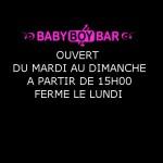 Baby Boy Bar