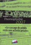 SOS homophobie - Rapport 2007