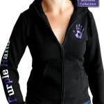 Purple Hand - femme