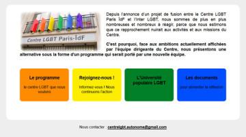 Le Centre LGBT que nous voulons