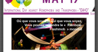 Rainbow Flashmob IDAHO 17 Mai
