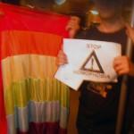 Rainbow Flashmob IDAHO 17 Mai