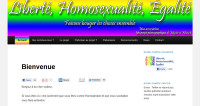 Liberté, Homosexualité, Egalité